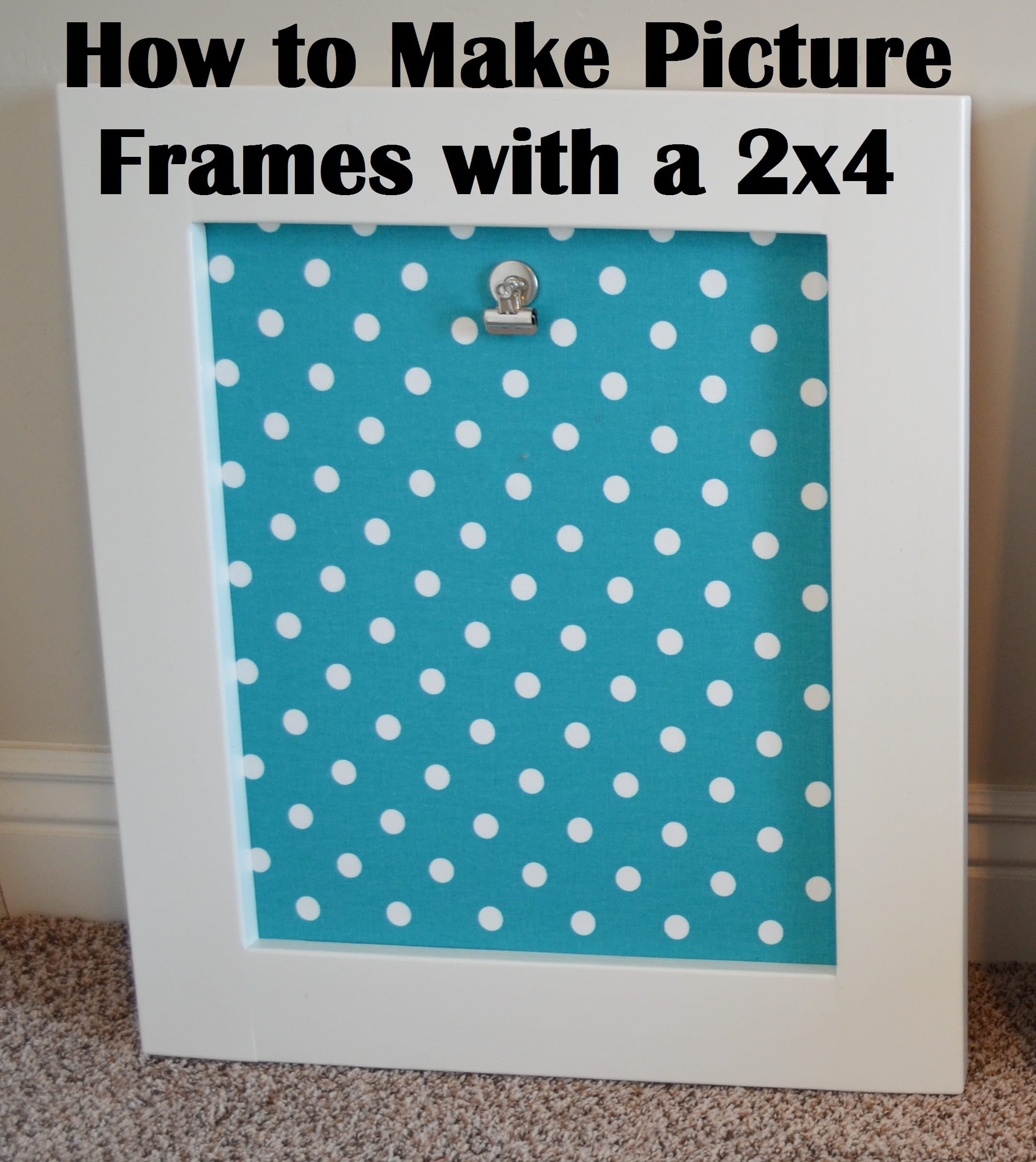 Poster frame how to make