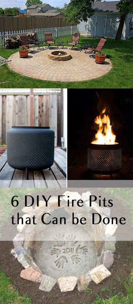 6 DIY Fire Pits that Can be Done in One Weekend