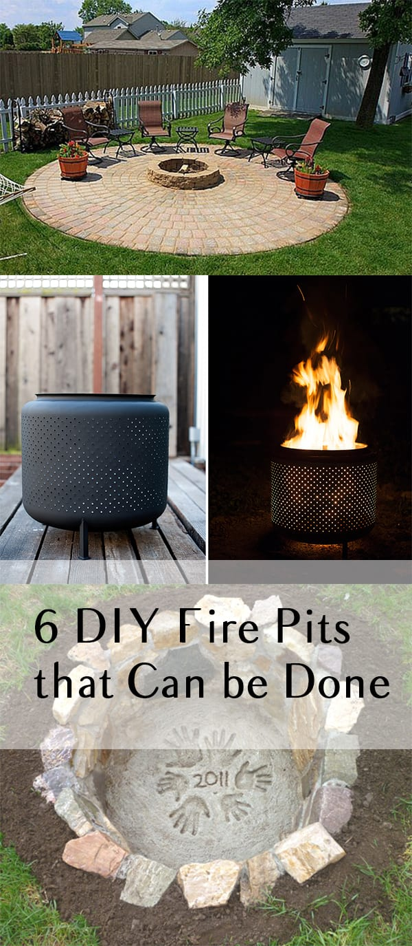 6 diy fire pits that can be done in one weekend how to build it