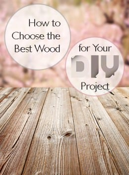 How to Choose the Best Wood for Your DIY Project