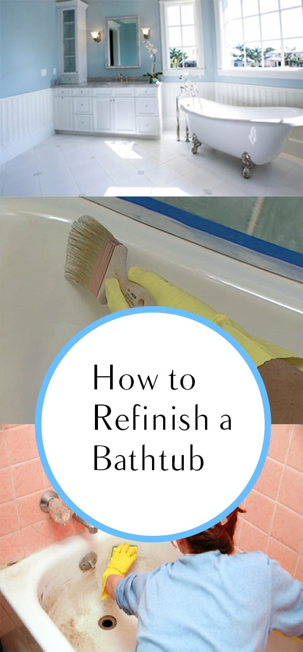 how to refinish a bathtub how to build it. Black Bedroom Furniture Sets. Home Design Ideas