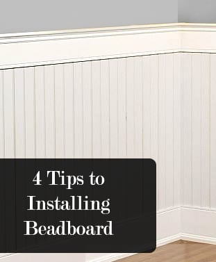 4 tips to installing beadboard how to build it. Black Bedroom Furniture Sets. Home Design Ideas