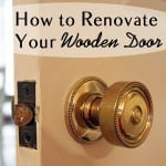 How to Renovate Your Wooden Door