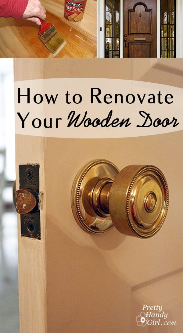 How to Renovate Your Wooden Door
