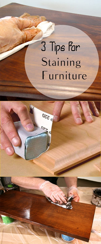 Staining Furniture, DIY Furniture, Furniture, Furniture Makeover, DIY Home, DIY Home Decor, Home Decor, Home Decor Projects, Painting Furniture