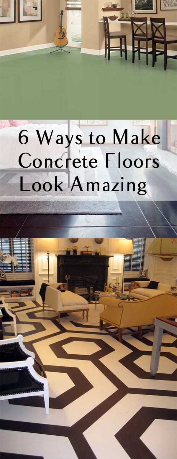 6 ways to make concrete floors look amazing page 6 of 7 for Best way to get oil out of concrete