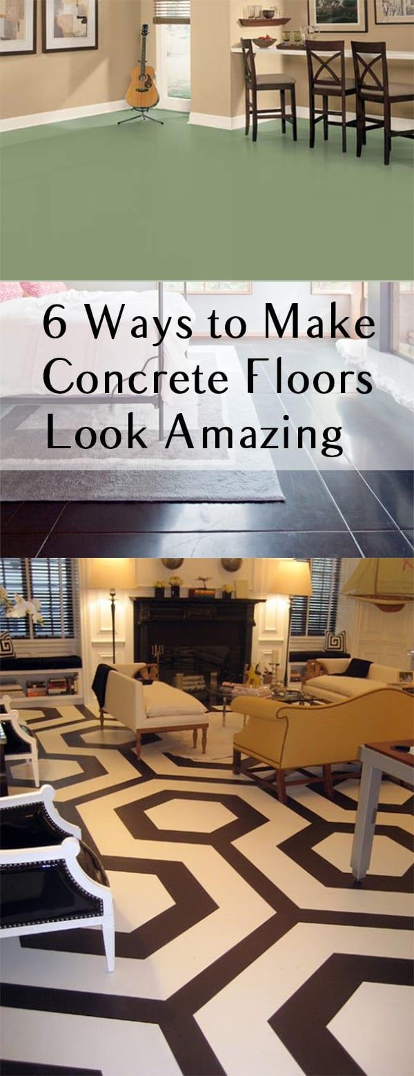Concrete Floors, DIY Concrete Floors, Concrete Floors DIY, DIY Flooring, Flooring Ideas, Flooring Ideas Cheap, Home Improvement
