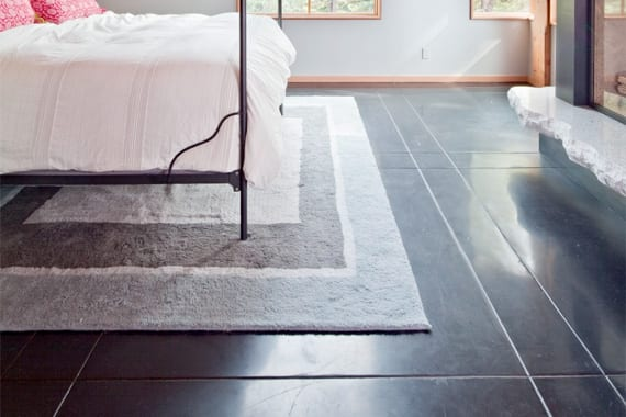 6 ways to make concrete floors look amazing page 3 of 7 How to paint interior concrete floors