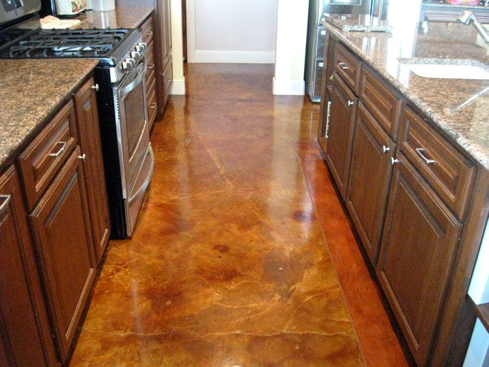 How to stain your concrete floor page 4 of 6 how to build it How to stain interior concrete