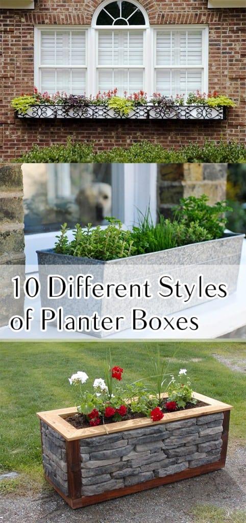 Planter box, planter box ideas, DIY planter boxes, easy planter boxes, gardening, popular pin, gardening hacks, gardening projects, DIY gardening, raised garden beds