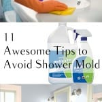 Shower mold, getting rid of shower mold, shower, popular pin, getting rid of mold, cleaning, cleaning tips, bathroom cleaning hacks, clean house.