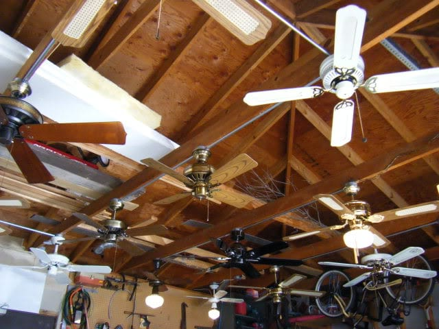 Garage Ceiling Fans : Ways to make your garage more temperature proof page