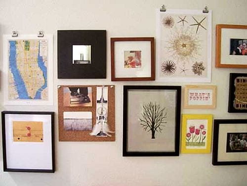 Tips To Hanging Pictures And Mirrors How To Build It