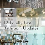 12 Totally Fast Bathroom Updates (1)