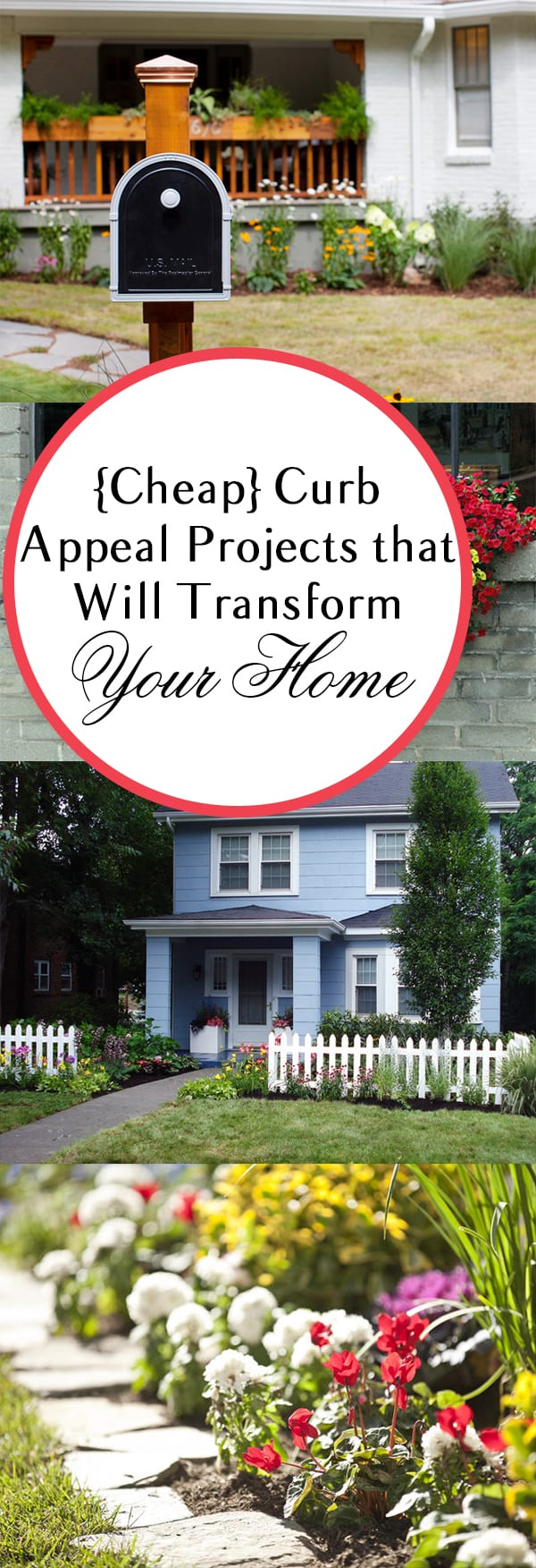 Cheap curb appeal projects that will transform your home for Cheap and easy home improvements