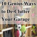 10 Genius Ways to De-Clutter Your Garage