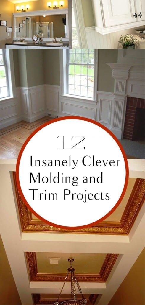 Home upgrades, DIY home, home improvement, DIY home improvement, popular pin, home projects, DIY home projects, trim and molding, molding projects, DIY molding