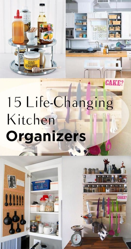 15 Life-Changing Kitchen Organizers