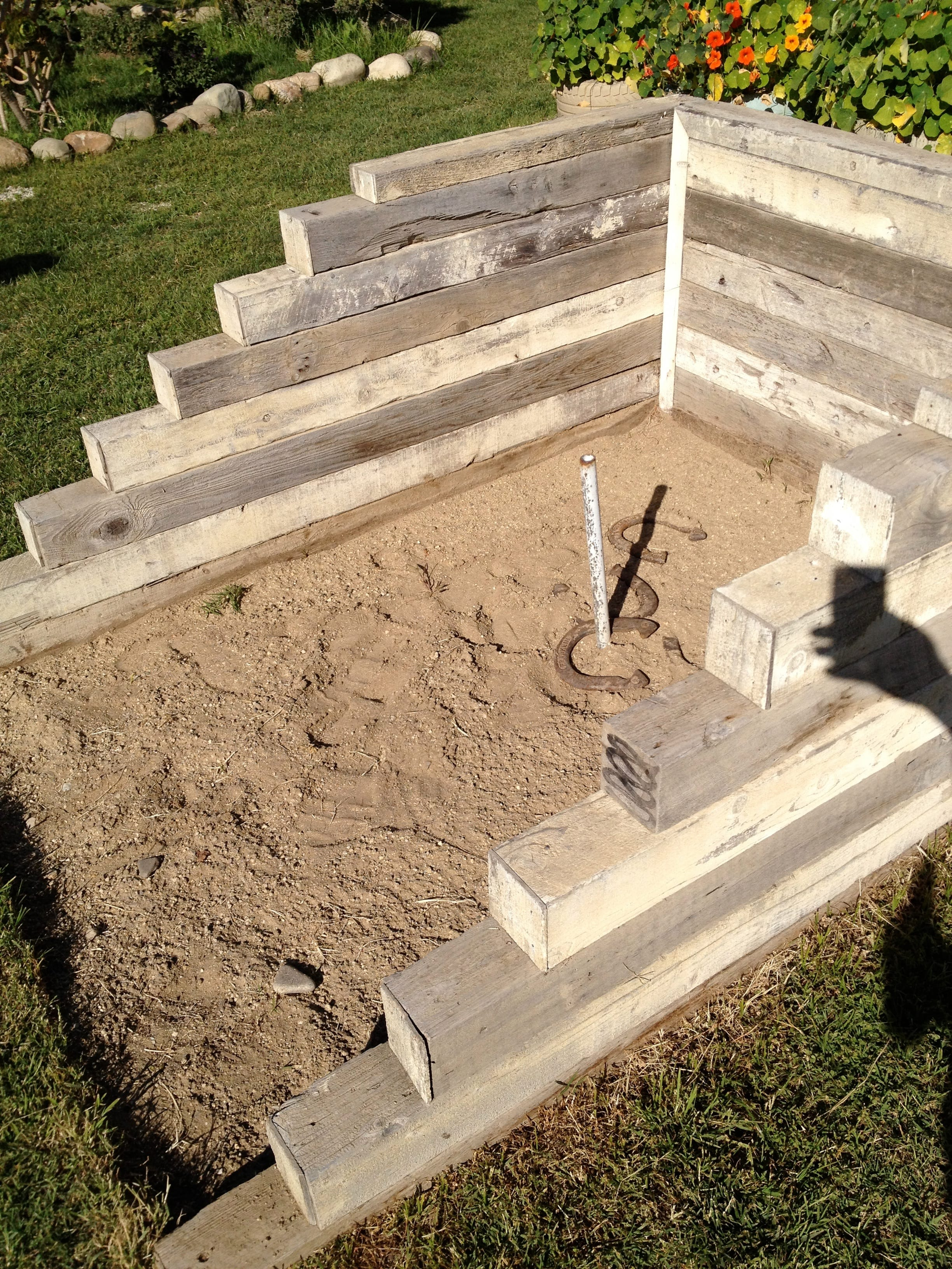 Diy Horseshoe Pit Page 3 Of 5 How To Build It