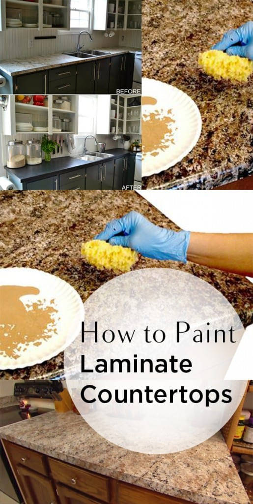 paint below are instructions for painting your counter top a new color ...