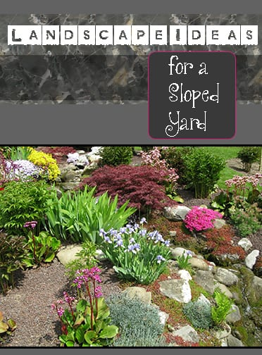 Landscaping Ideas For Uneven Yard : Landscape ideas for a sloped yard how to build it