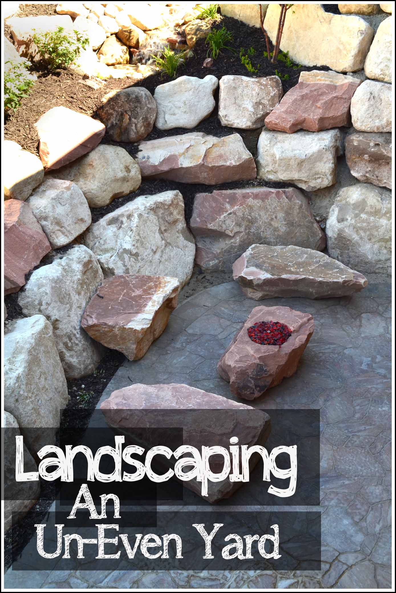 Landscaping Ideas For Uneven Yard : Landscaping an uneven yard how to build it
