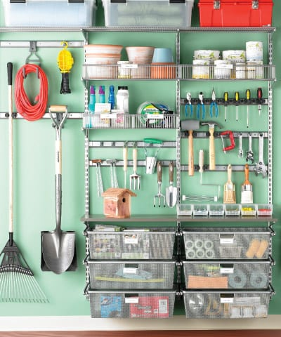Garage Clutter Busters How To Build It