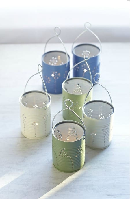 12 DIY Tin Can Projects