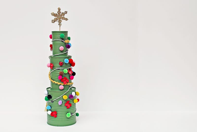 15 genius tin can crafts and upcycles for Christmas crafts out of tin cans