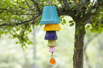 Diy wind chime ideas how to build it for Homemade chimes