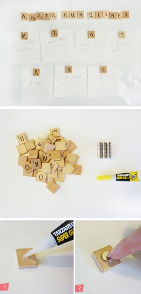 DIY Refrigerator Magnets
