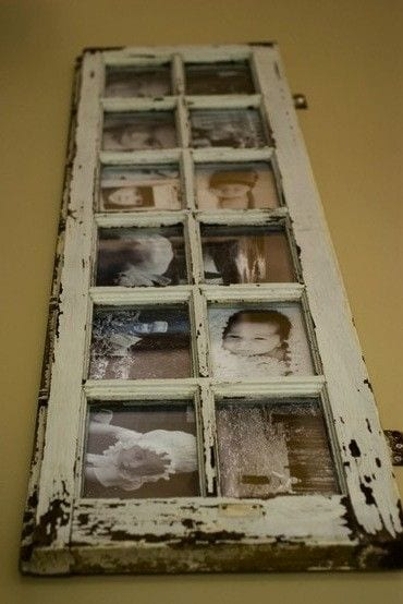 Creative ways to repurpose old windows how to build it for Ways to use old windows
