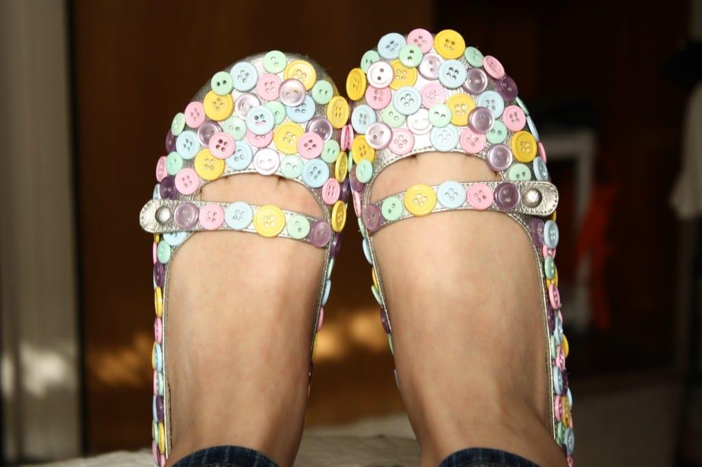 Button Shoe Tutorial