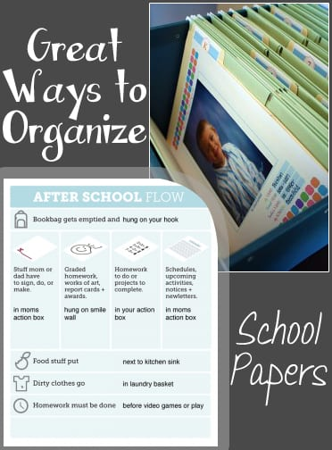 Great Ways to Organize School Papers