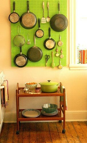 Clever Storage Solutions for Pots and Pans