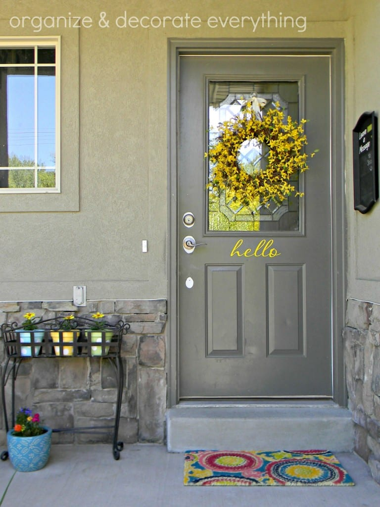 6 Ways to Update a Plain Door