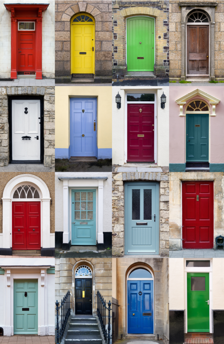 Your front door says a lot about your home! If your front door needs a little love, here 's how to renovate a front door.