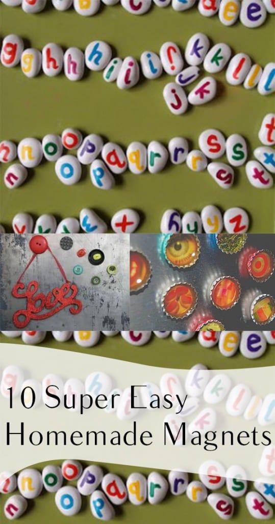 10 Super Easy Homemade Magnets (1)