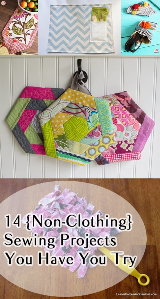 14 {Non-Clothing} Sewing Projects You Have to Try | How To ...