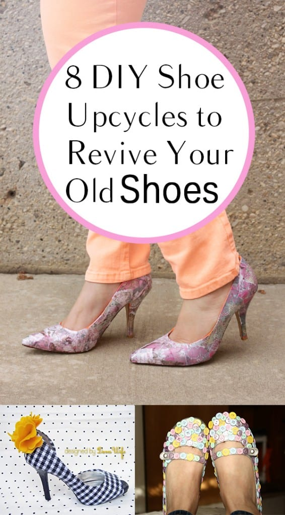 8 DIY Shoe Upcycles to Revive Your Old Shoes