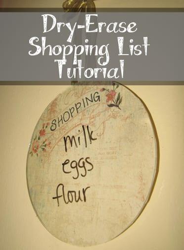 Dry-Erase Shopping List Tutorial (1)