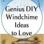 DIY wind chime, wind chime ideas, wind chime, porch projects, popular pin, DIY porch projects, porch decor, curb appeal projects, easy curb appeal project.
