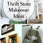 Top 20 Thrift Store Makeover Ideas| Thrift Store DIYs, dIY Home Decor, DIY Home Decor Projects, Repurpose Projects, Projects for the Home, Popular Pin. #repurpose #diyhome #diyhomedecor #homedecor #diydecor #homeimprovement