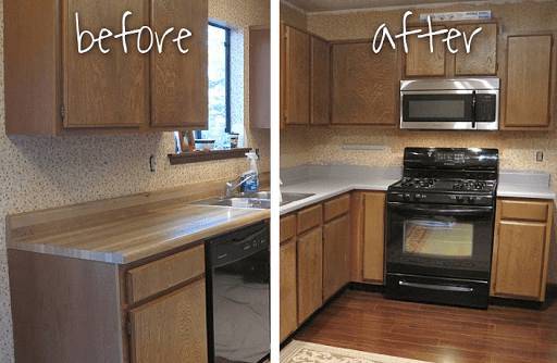 Countertop Makeover : 10 Amazing Laminate Countertop Makeovers