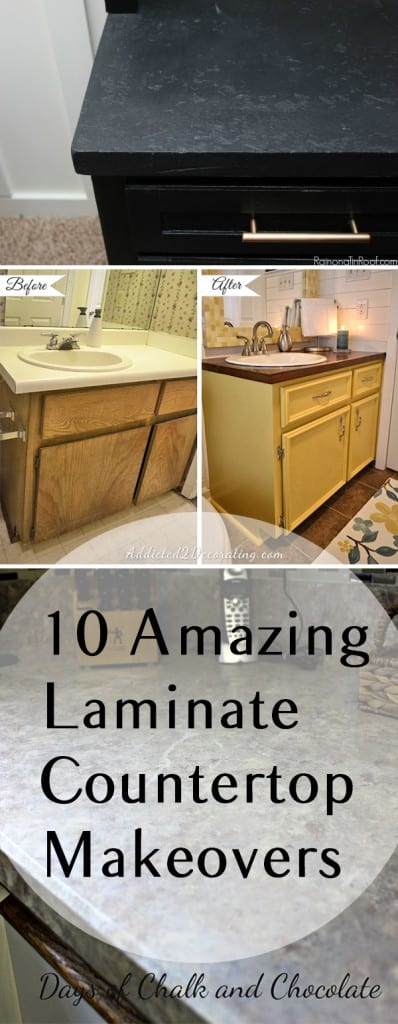 Laminate counter tops, how to paint laminate counter tops, painting hacks, painting laminate, popular pin, home decor, DIY home, DIY home remodel.