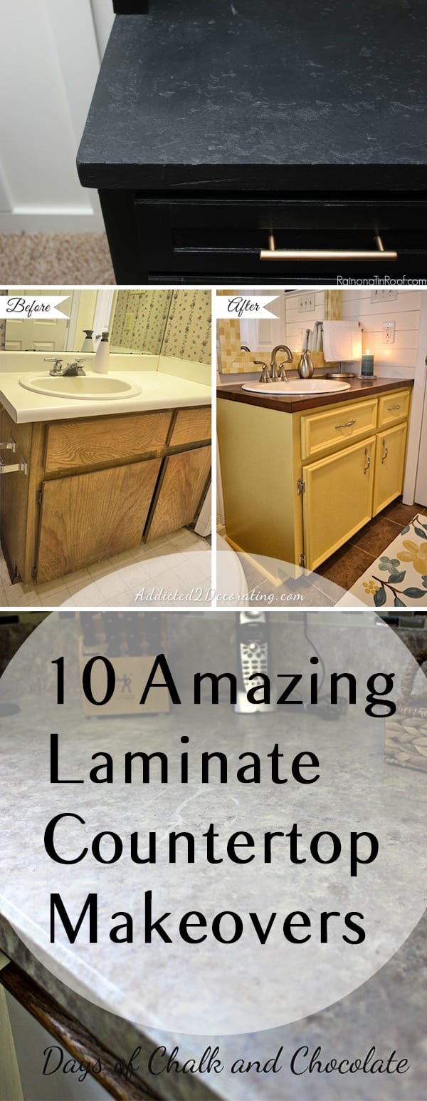Countertop Makeover : Laminate counter tops, how to paint laminate counter tops, painting ...