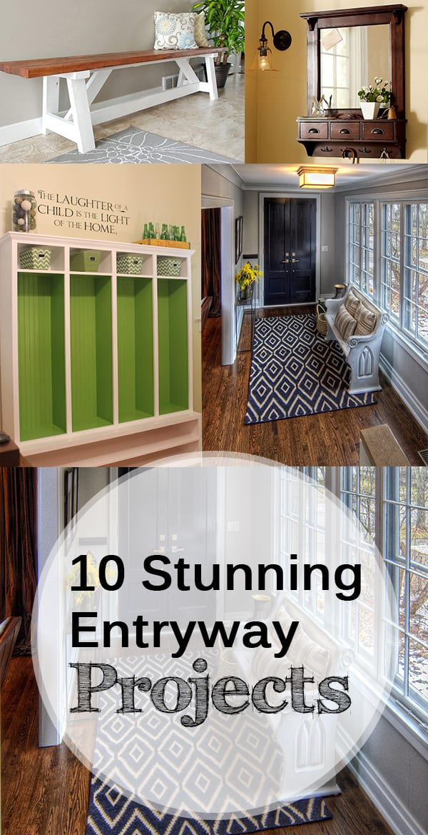 10 Stunning Entryway Projects