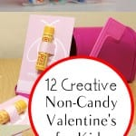 12 Creative Non-Candy Valentine's for Kids