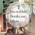 Bookcase ideas, DIY bookcase, decorating with books, unique bookcase, popular posts, DIY home decor, home improvement.
