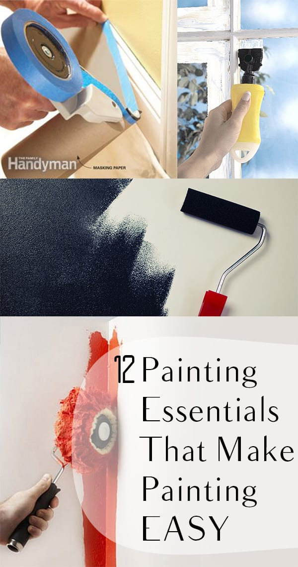 12 Painting Essentials That Make Painting EASY